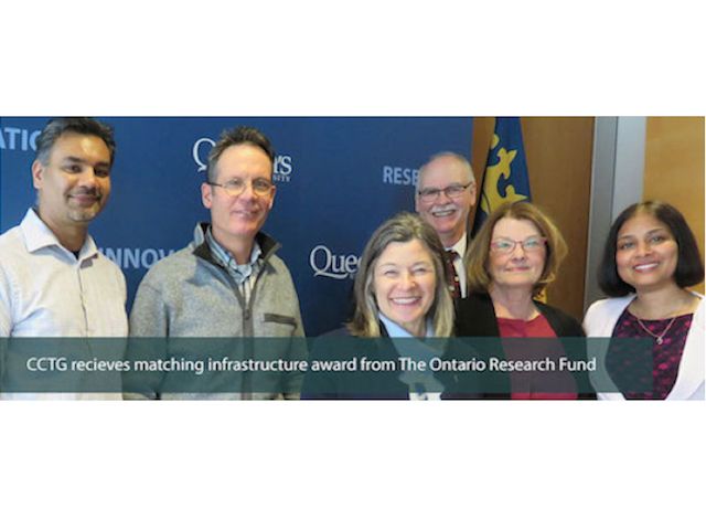 Canadian Cancer Trials ORF award